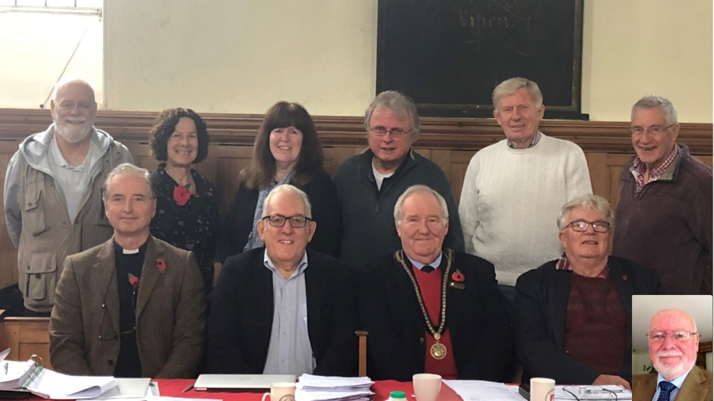 Trustees plus Patrick Nov 2019